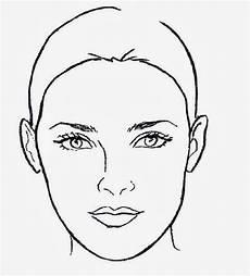 gesicht zum ausmalen diferentes formas rostro y contornos historias papel