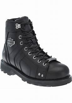 chaussures bottes harley davidson mandrake cuir noir