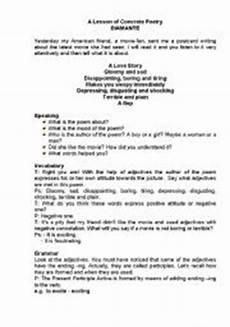 concrete poetry worksheets printable 25341 worksheets a lesson of concrete poem