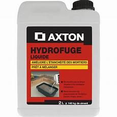 Hydrofuge Pour Mortier Axton 2 L Blanc Leroy Merlin