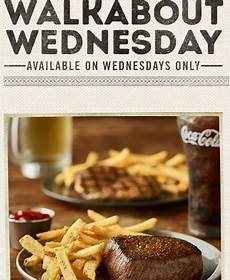 Wed Food Specials wednesday fast food specials restaurant deals