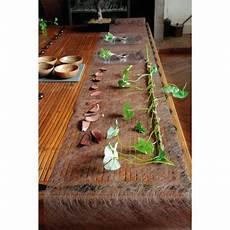 Chemin De Table Mariage Pas Cher Orange Fanon 30cm Badaboum