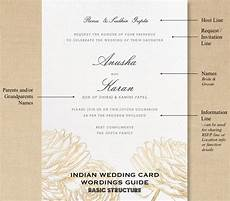 Indian Wedding Invite Wording