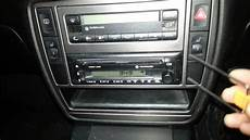 how to remove a radio from a vw passat