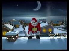 frohe weihnachten mit dem lustigen santa claus