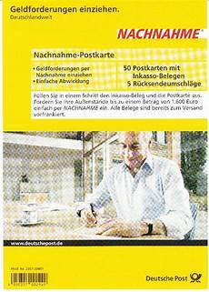 post nachnahme nicht philaseiten de nachnahme postkarten der deutschen post