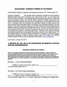 connecticut durable power of attorney short form fill online printable fillable blank