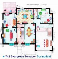 simpsons house floor plan family guy house floor plan