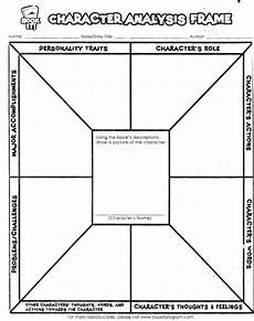 character analysis worksheet lovetoteach org