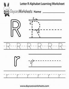 pre k letter r worksheets 24414 free letter r alphabet learning worksheet for preschool