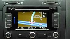 volkswagen rns315 gps system demo review and tips in a