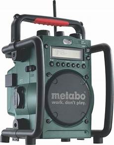 bol metabo rc 14 4 18 radio worksite digitaal