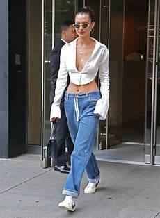 le retour du jean taille basse