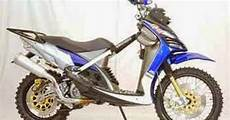Modifikasi Motor Matic Yamaha by Modifikasi Trail Motor Yamaha Matic X Ride Terbaru 2016