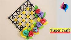 Home Decor Ideas Diy With Paper by Diy Wall Decoration Ideas With Paper Craft Ways To