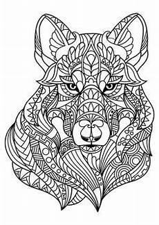 Malvorlagen Wolf Pdf Ausmalbilder Erwachsene Wolf 699 Malvorlage Erwachsene