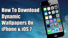 iphone ios7 dynamic wallpaper how to more dynamic wallpapers for iphone ios 7