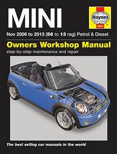 old cars and repair manuals free 2006 bmw m roadster electronic valve timing haynes manual bmw mini 2006 2013 car workshop repair book maintenance 4904 new ebay