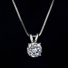 umode jewelry 2 carat cut clear cubic zirconia