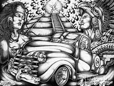 Lowrider Arte  Chicano Art Artwork
