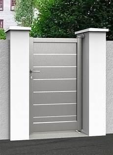 portillon exterieur porte de jardin en pvc