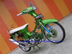 Modifikasi Motor Honda Grand by Motor Drag Juli 2015