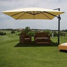 sonnenschirm für terrasse alu gastronomie luxus elschirm 3 5x3 5m haus garten