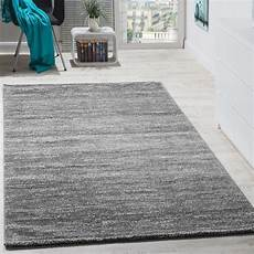Teppich Wohnzimmer Grau - modern wohnzimmer kurzflor gem 252 tlich preiswert meliert in