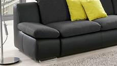 Ecksofa Mit Funktion - ecksofa isona sofa wohnlandschaft in schwarz mit funktion