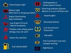 audi symbols and warning lights