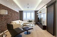 modernes wohnzimmer in dunkelbraun und wei 223 abgeh 228 ngte