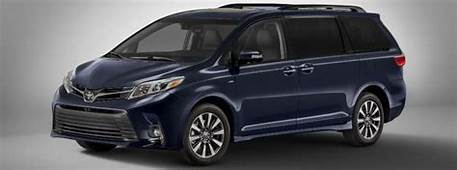2018 Toyota Sienna Release Date And Design Specs