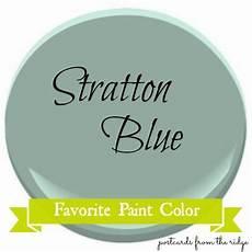 favorite paint color benjamin moore stratton blue