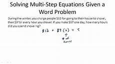 multi step equations ck 12 foundation