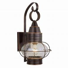 nautical lantern outdoor wall light cascadia lighting chatham nautical in h burnished