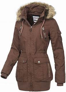 eight2nine damen winter parka abnehmb kapuze mit kunstfell