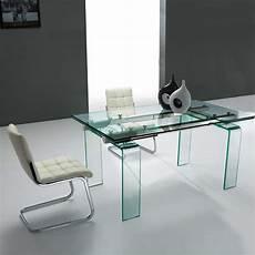 table design verre table design rectangulaire extensible en verre tania 4