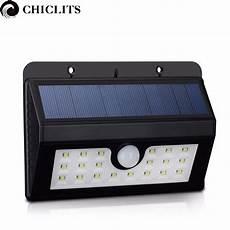 led solar powered l 20led solar light with motion