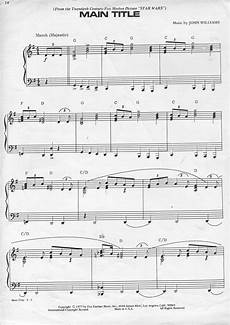 star wars sheet music piano world piano digital piano