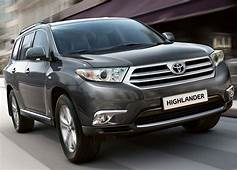 2011 Toyota Highlander Arrives In The US With A New Look