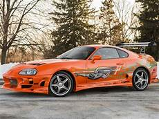 paul walker supra auctioned paul walker s fast and furious toyota supra