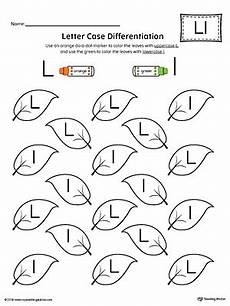 letter l worksheets for preschoolers 23200 letter recognition worksheet letter l myteachingstation