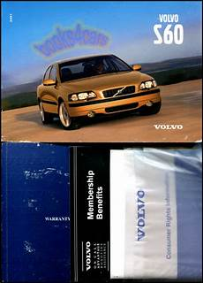 vehicle repair manual 2001 volvo s60 free book repair manuals owners manual volvo s60 2001 book handbook turbo ebay