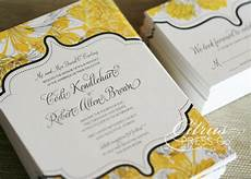 black white and yellow wedding invitations budget wedding ideas diy invitations from etsy yellow