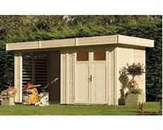 gartenhaus konsta kubik woodhouse 456x210 cm natur kaufen