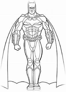 Ausmalbilder Batman Drucken Ausmalbilder Zum Drucken Malvorlage Batman Kostenlos 3