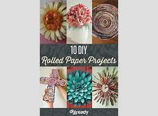 10 DIY Rolled Paper Crafts From Recycled Magazines   DIY Well