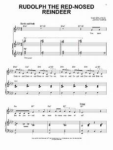 rudolph the red nosed reindeer sheet music direct