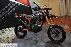 Modifikasi Crf150l Supermoto by Modifikasi Honda Crf150l Supermoto Yang Bikin Ngiler