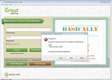 cricut craftroom blog debug errors